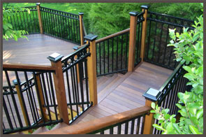 Milwaukee deck by Skirrow deck builders