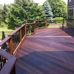 Ipe deck-stain it every other year!